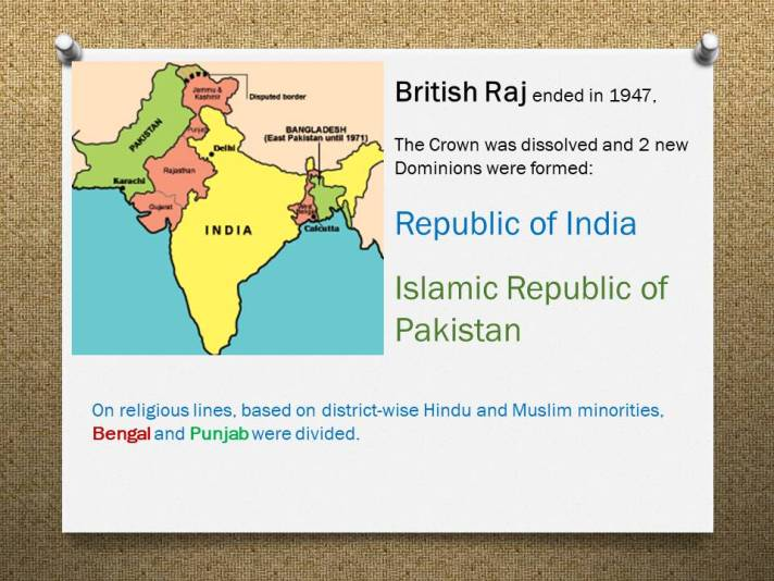 A Story of the Partition of India – Digital Rainbow